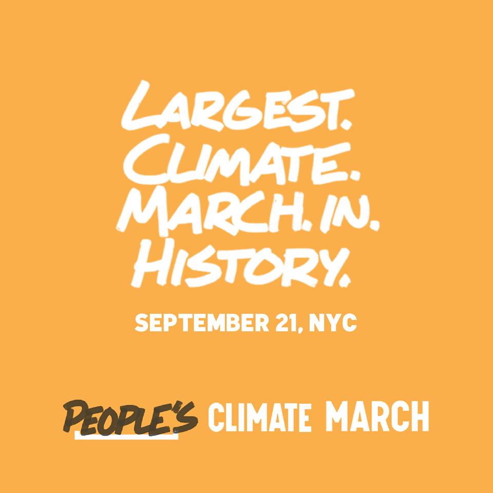 Climate March meme